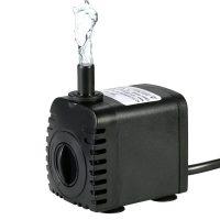 Bomba de Agua Sumergible,Decdeal 600L/H 8W Water Strider – con 2 Boquillas AC220-240V para Acuario Fuentes Estanque Sistemas Hidropónicos