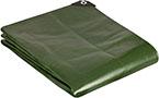 GardenMate 3x4m 200g/m2 Lona de protección prémium verde - Funda protectora
