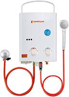 Camplux AY132N - Calentador de agua portátil de 5 l, ducha al aire libre para camping