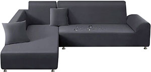 TAOCOCO Funda para sofá elástica Impermeable en Forma de L