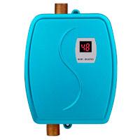 YANZEDIAN Mini Calentador de Agua Eléctrico Instantáneo Portátil - Cocina Baño Camping