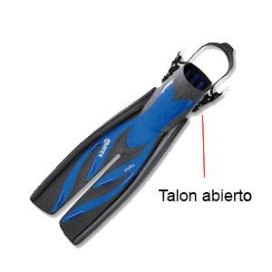 Talon abierto