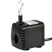 Bomba de Agua Sumergible,Decdeal 600L/H 8W