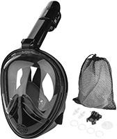 HOVNEE Máscara de Buceo,Máscara Snorkel Máscara para Buceo 180 ° tecnología panoránica