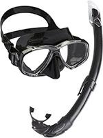 Cressi Combo Set Perla Conjunto Combinado de máscara de Buceo y Snorkel