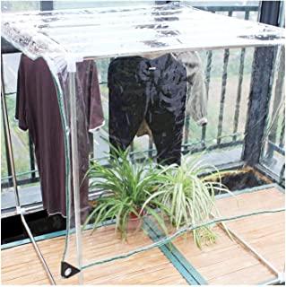 usos de la lona impermeable transparente