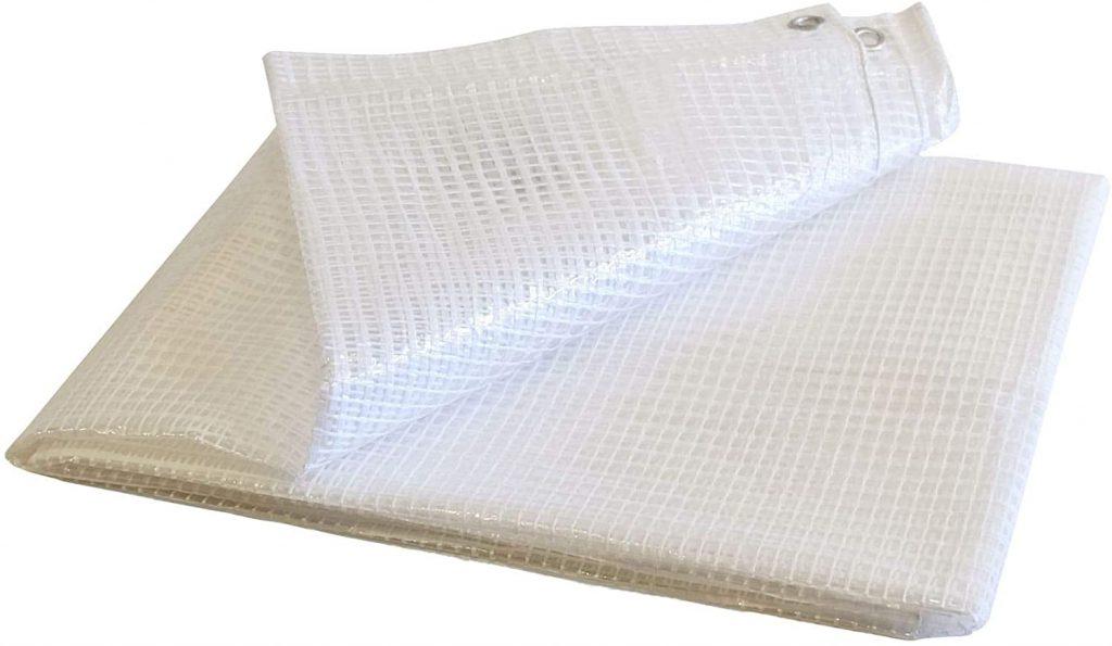 Lona para leña Bâches Direct transpaLona para leña Bâches Direct transparente e impermeablerente e impermeable
