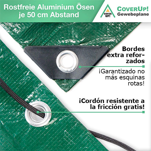 CoverUp! lona impermeable exterior