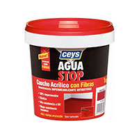 Aguastop Ceys M92283 Impermeabilizante aquastop caucho acrilico con fibras
