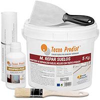 M-REPAR SUELOS de Tecno Prodist – (5 kg + kit) Mortero de reparación suelos hormigón o cemento